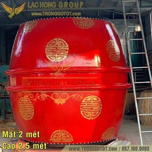 Mua Trống Sấm 200x250cm Cho Đình Làng, Nhà Thờ