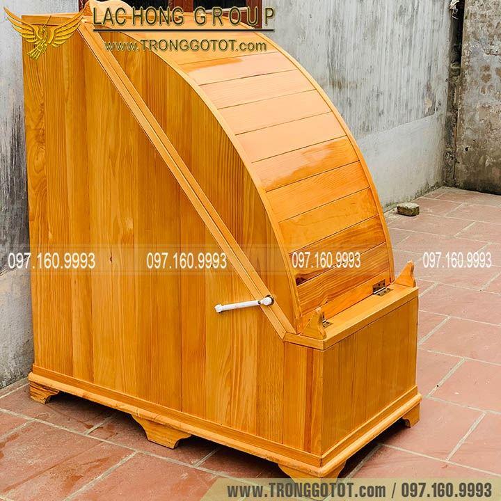 bán bồn gỗ xông hơi spa