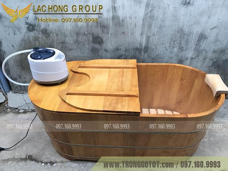 cửa hàng bán bồn tắm gỗ tại Hà Nội