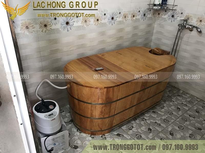 giá bán bồn tắm gỗ pơ mu