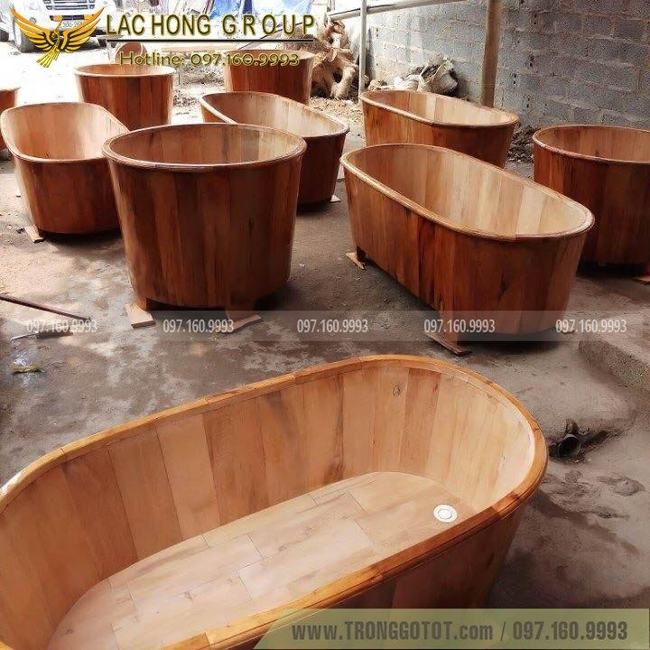 bồn tắm gỗ ngọc am