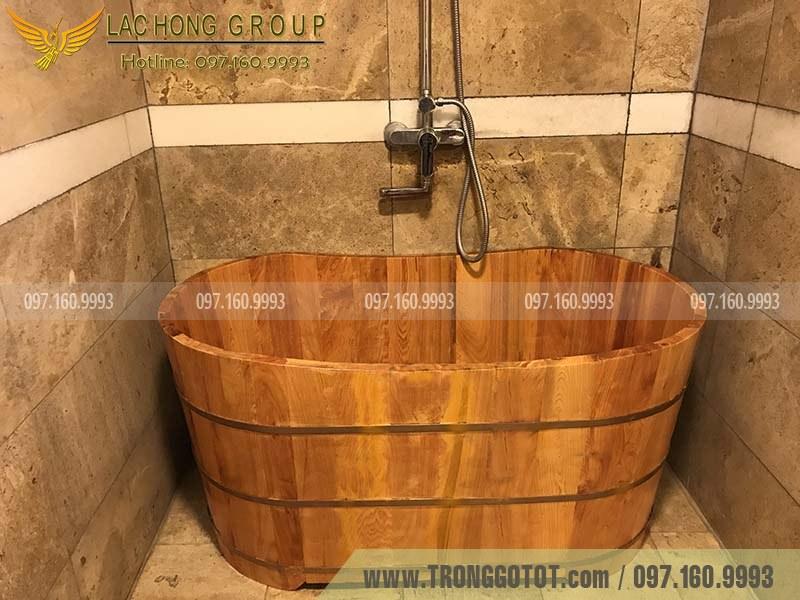 bán bồn tắm gỗ đà nẵng