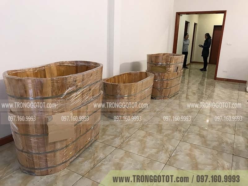 bán bồn tắm gỗ hà nội