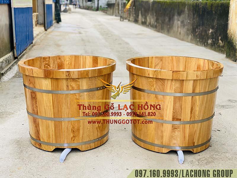thùng tắm gỗ Pơ Mu giá rẻ