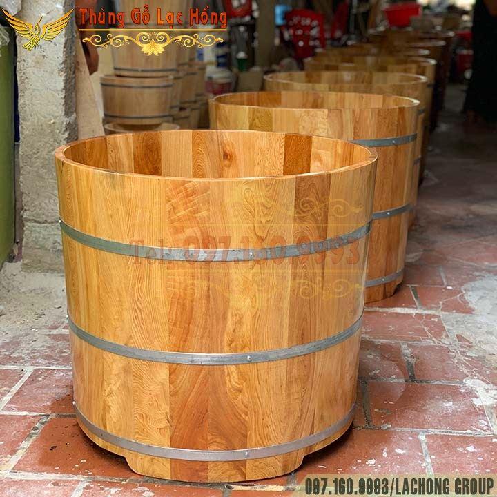 bồn gỗ tắm thuốc