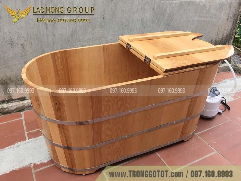 mua bồn tắm gỗ ở đâu