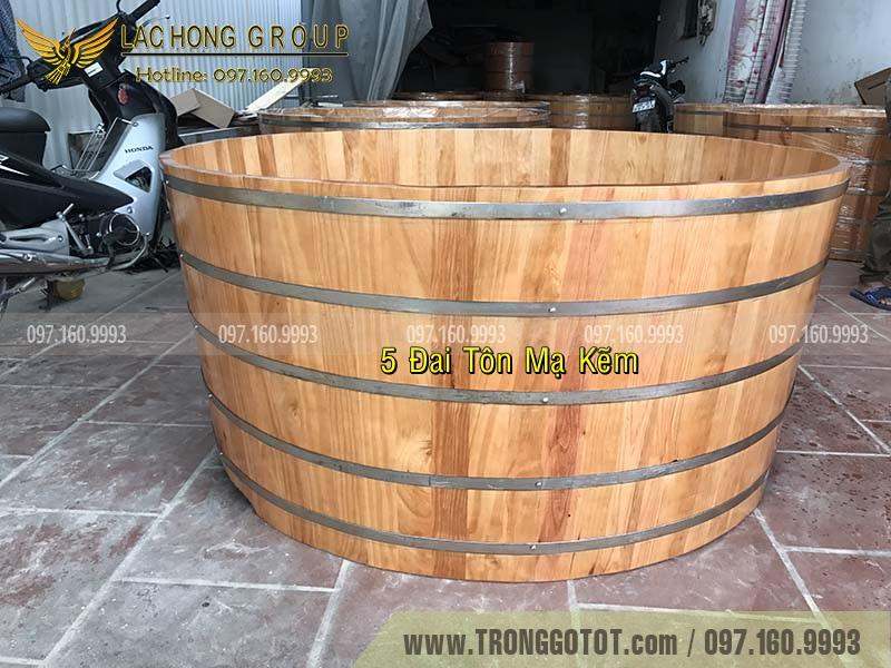 giá tiền bồn tắm gỗ