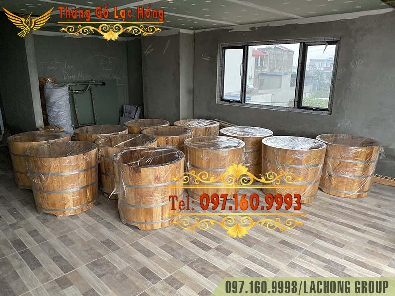 bán bồn tắm gỗ cho khách sạn tại nam định