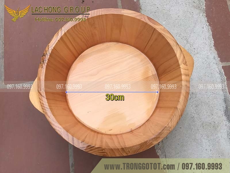 bồn rửa mặt bằng gỗ