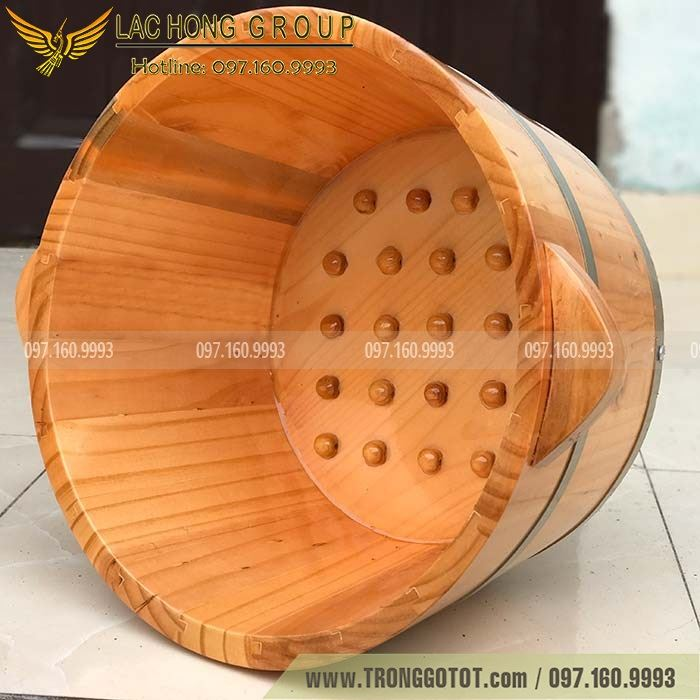 bán chậu gỗ ngâm chân hcm