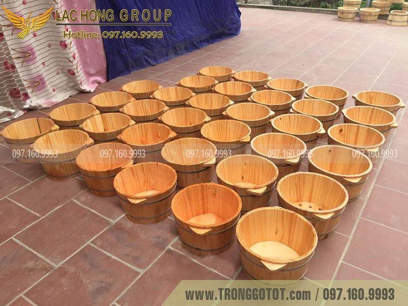 bồn gỗ ngâm chân giá rẻ