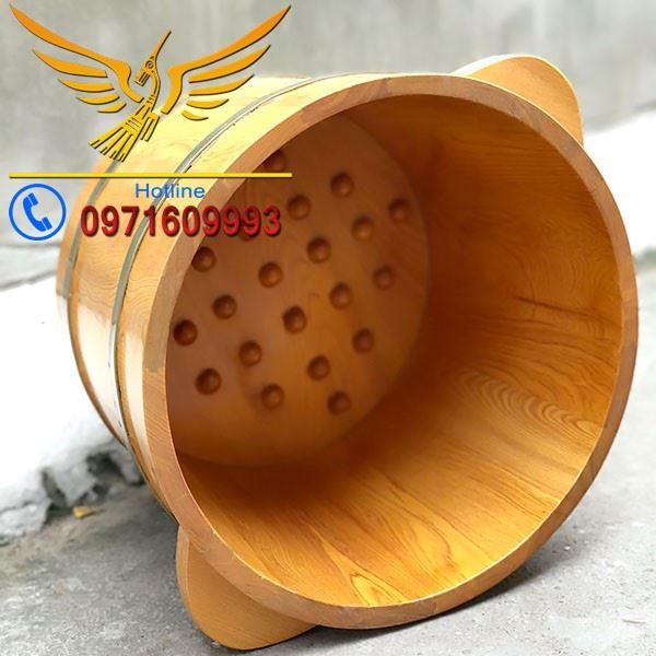 bán chậu gỗ ngâm chân