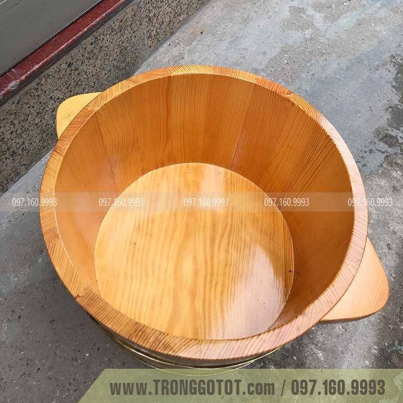bán thùng gỗ ngâm chân