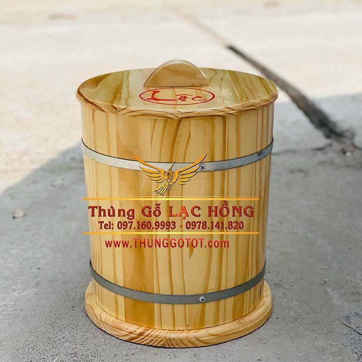 thùng đựng gạo phong thủy