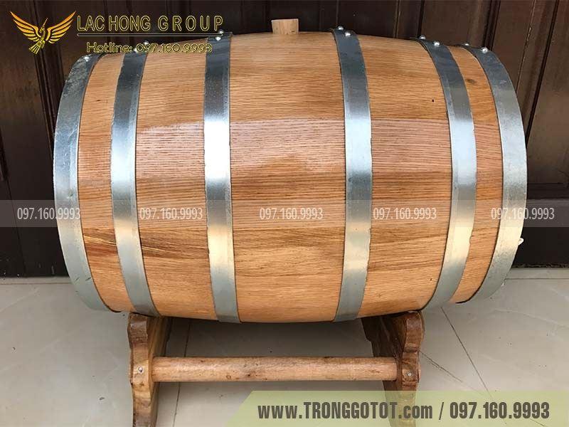 bán thùng gỗ ngâm rượu vang