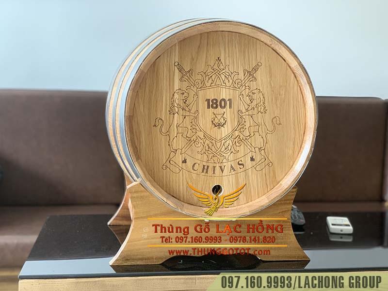 thùng gỗ ngâm rượu