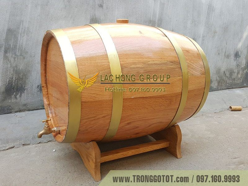 giá thùng gỗ sồi