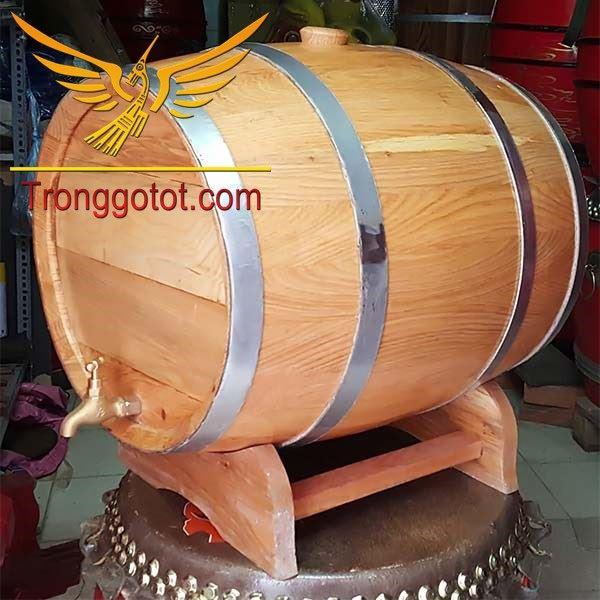 thùng gỗ đựng vang
