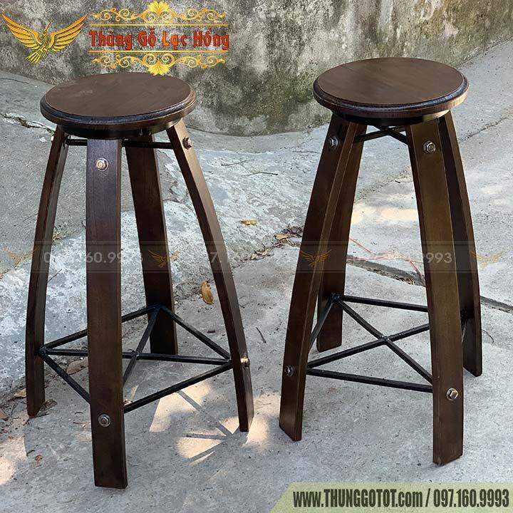 bàn thùng gỗ pallet