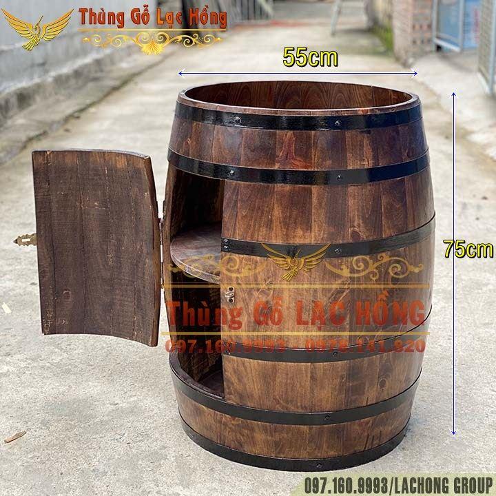 bán thùng gỗ quầy bar