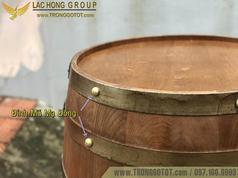 thùng gỗ cafe