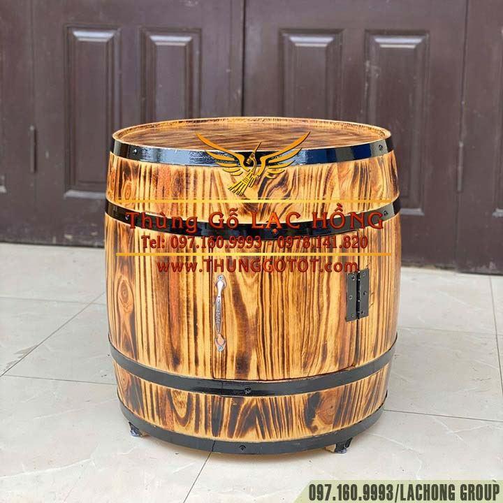 thùng gỗ trang trí tiệc cưới