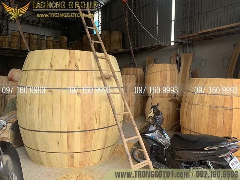 cơ sở sản xuất trống Đọi Tam