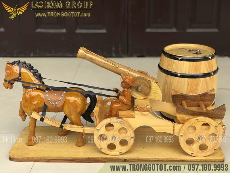 bình rượu ngựa kéo